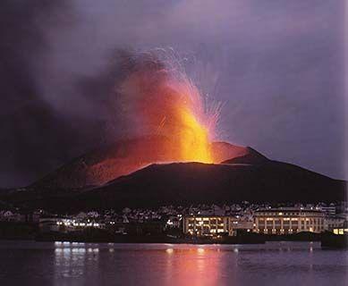 1973 it was volcanic in Vestmannaeyjar