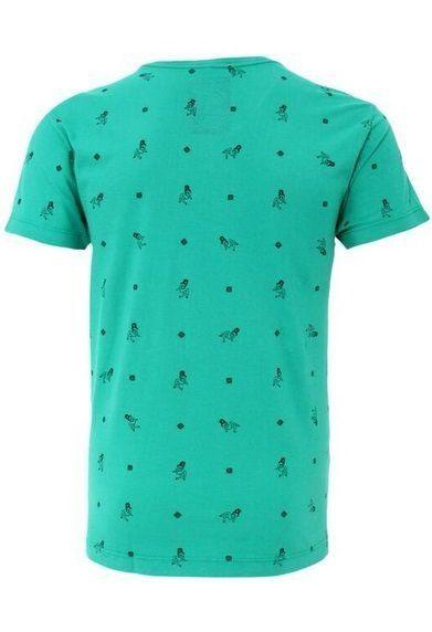Camiseta com estampa pin up, parceria com a marca ENK_B. Algodão tinturado temos tamanho PP/P/M/G/GG/EG verde jade produto novinho  tamanho M 72 de comprimento 50 de busto 50 de quadril 46 de ombro  22 de cava  100%co temos outras cores :  azul e coral