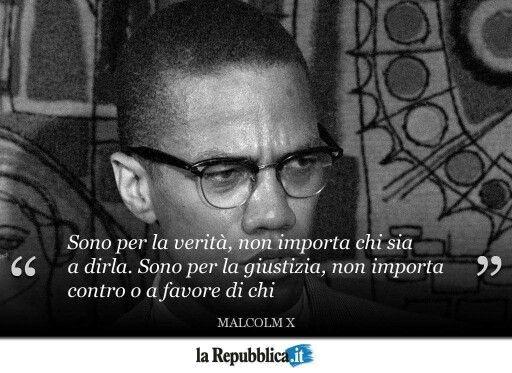 Malcolm X Frasi Famose.Malcolm X Diritti Umani Celebrita Citazione Del Giorno