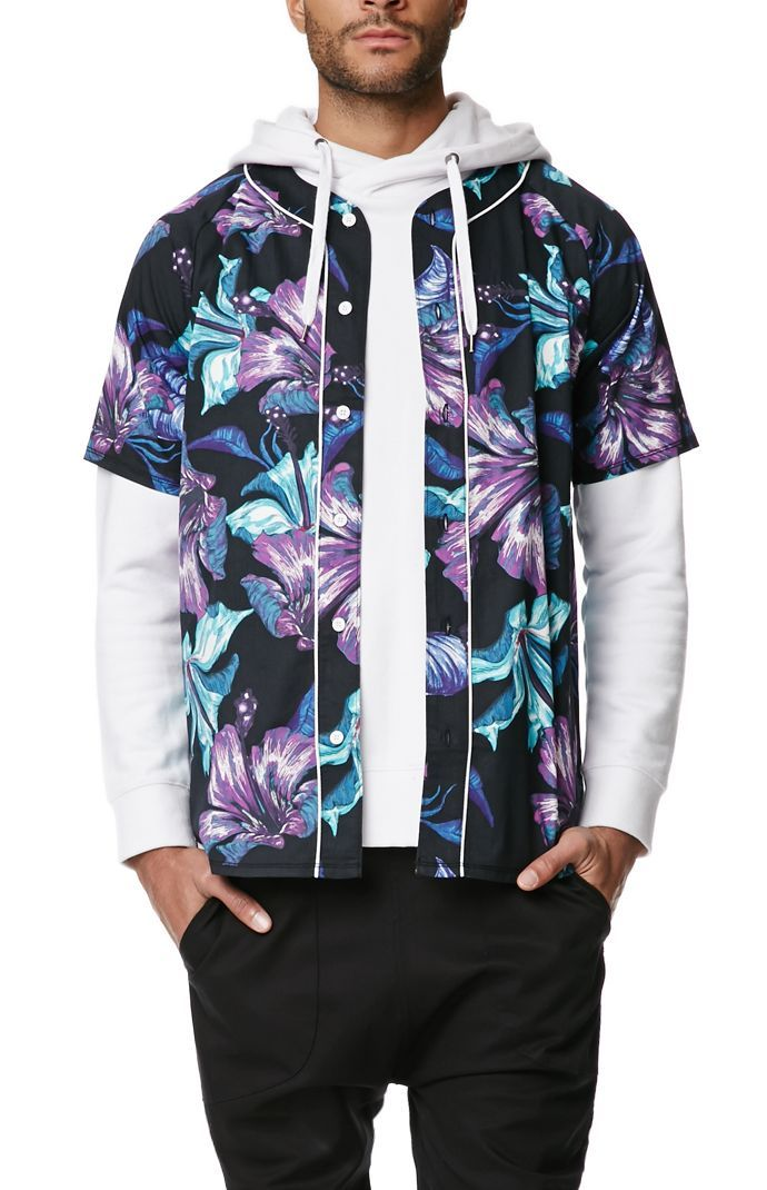 On The Byas Luau Baseball Jersey