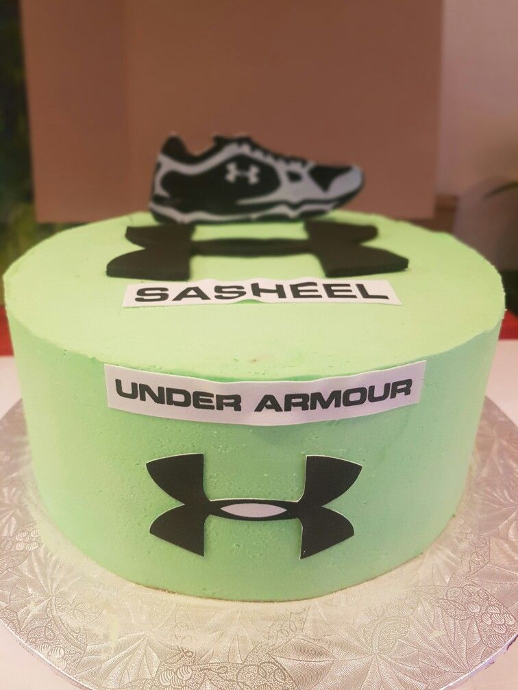 Pin By Marlene Pillay On Under Armour Cake Pinterest Armours