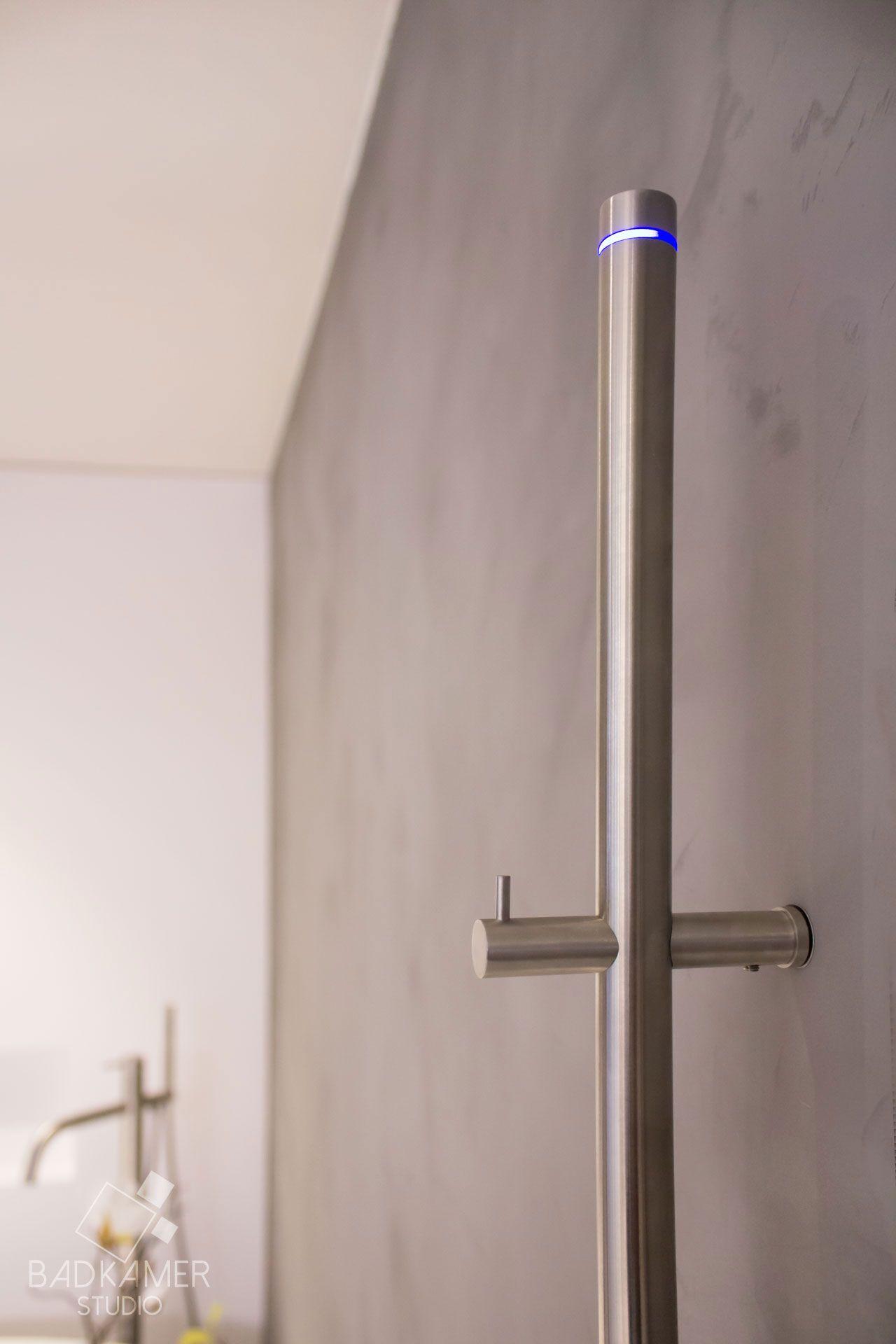 Elektrische RVS handdoek radiator de JAY van Instamat, 172 cm ...