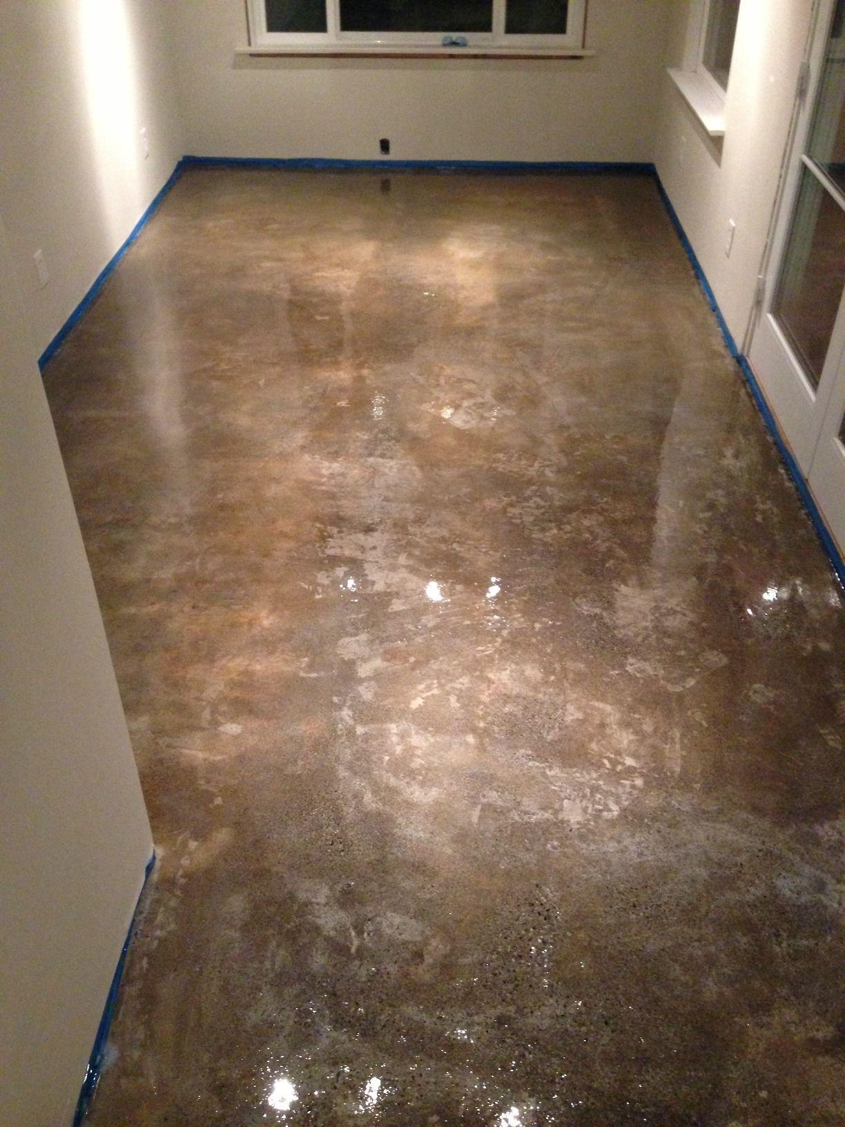 Concrete Floor Refinishing 100 Solid