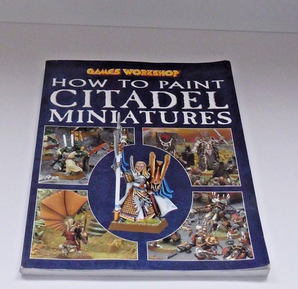 How to paint citadel miniatures paperback good used