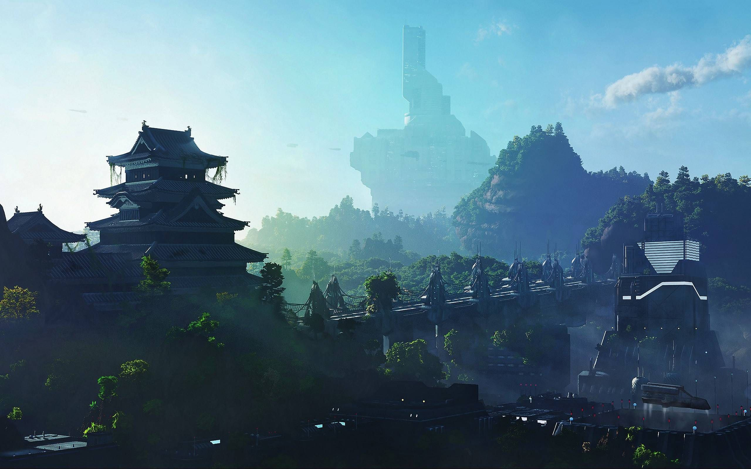 Japan 2100 2560x1600 Landscape Wallpaper Wallpaper Pc Japanese Nature