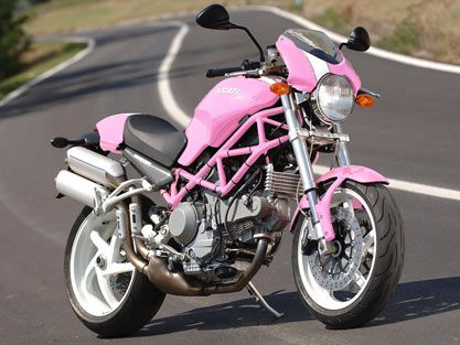 Image Detail For  Ducati Monster Pink | Future Cars And Such
