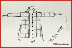 Crochet Tutorial: The G.G. (Gorgeous Gal) Cardigan #grannysquareponcho