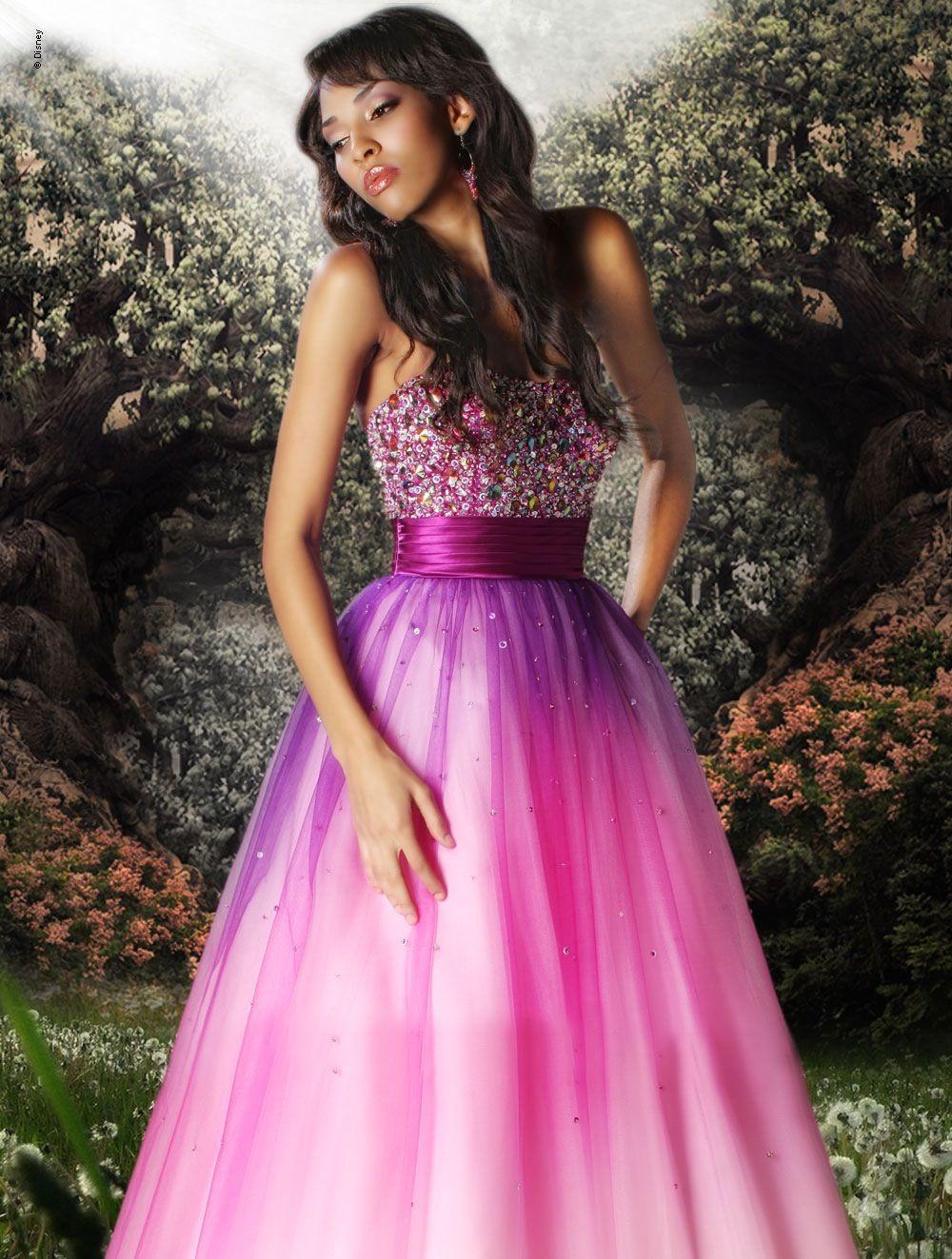 Forever Enchanted--Disney prom dress. My back-up dream dress. idk ...