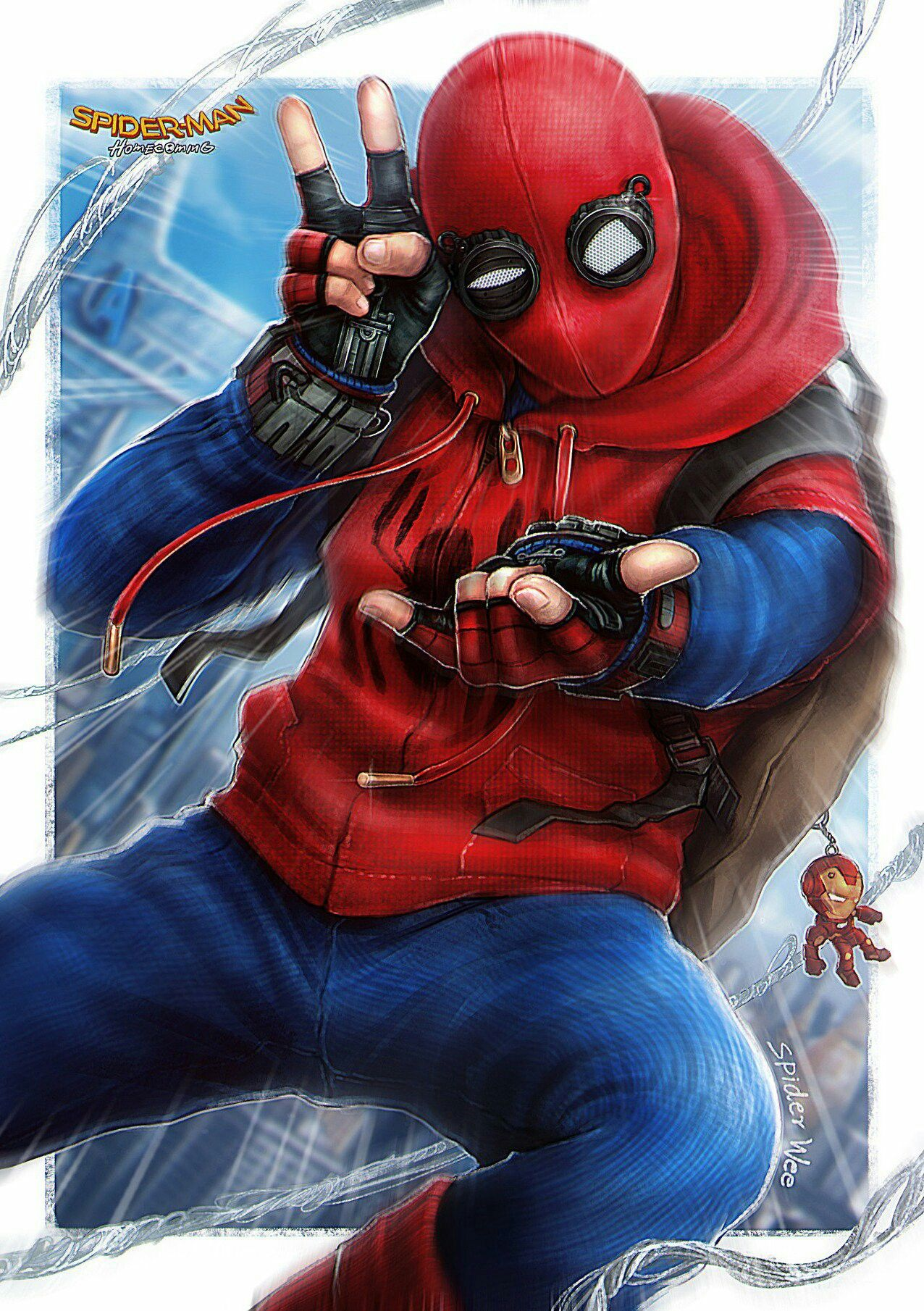 Pin Em Spider-Mantom Holland-6007