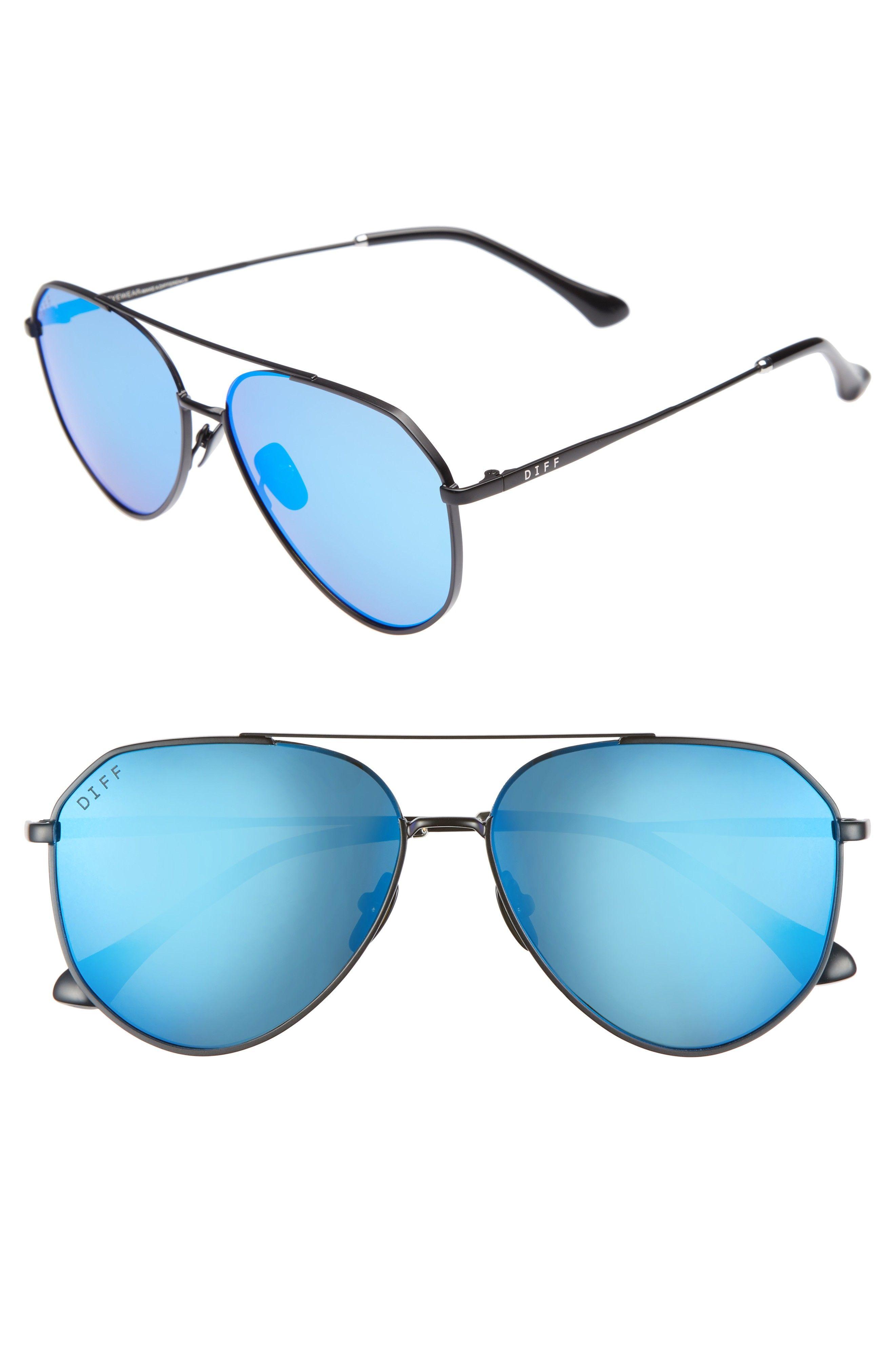 66a317d6bd48f x Jessie James Decker Dash 61mm Polarized Aviator Sunglasses ...