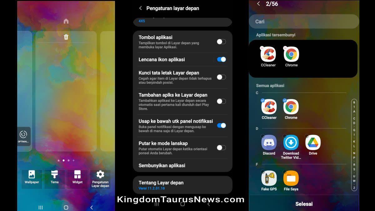 Cara Menyembunyikan Aplikasi Samsung Tanpa Aplikasi Tambahan Di 2021 Aplikasi Samsung Smartphone