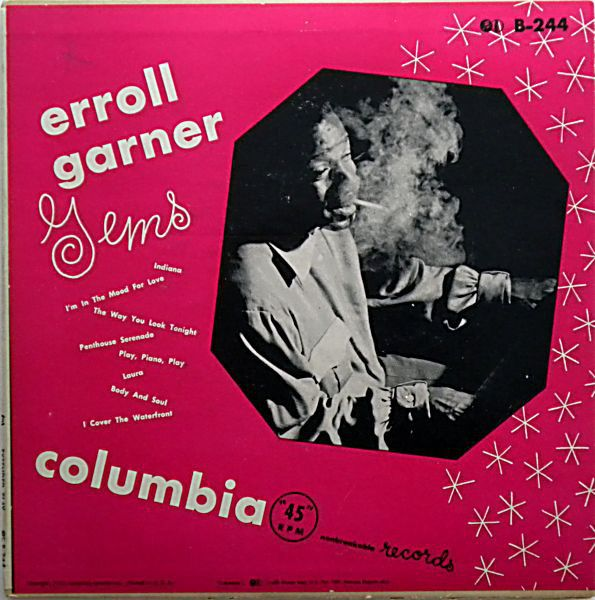 Erroll Garner Erroll Garner Gems At Discogs Erroll Garner Garner Gems