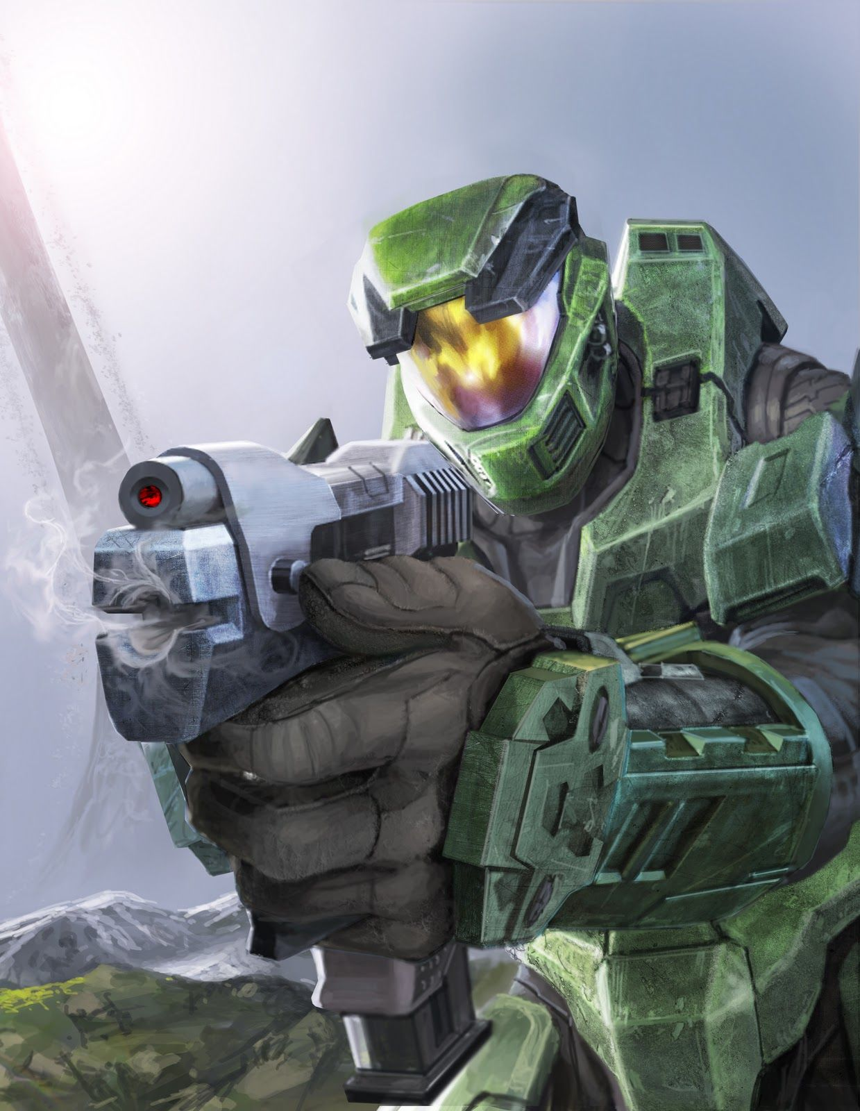 Halo Combat Evolved Anniversary Artwork Halo Halo Game