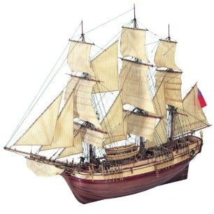Ship model Bounty, wooden kit Artesania Latina (www.victoryshipmodels.com)
