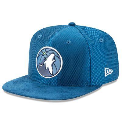 55bc9b32e9b4 Men s New Era Blue Minnesota Timberwolves NBA On-Court Original Fit 9FIFTY  Adjustable Hat