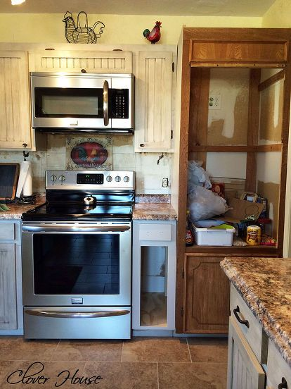 Built a Drop-in Kitchen Cabinet   Kitchen cabinets before ...