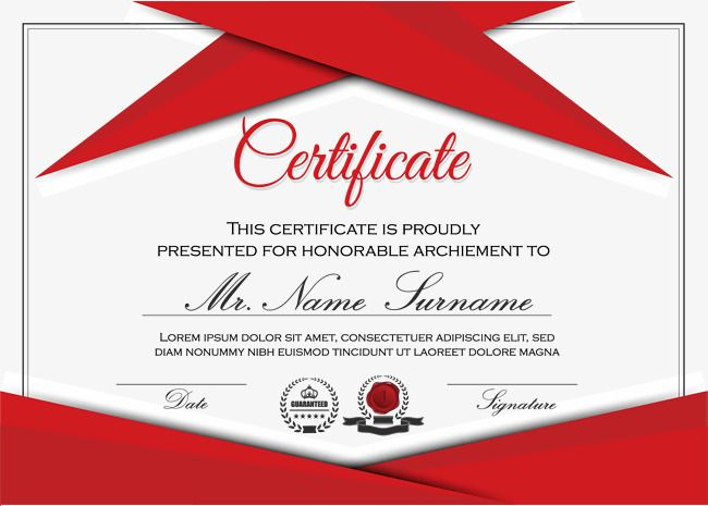 Red Certificate Border Texture Foreign Certificate Upscale Seal Png And Vector With Transparent Background For Free Download Certificate Templates Marketing Calendar Template Certificate Background