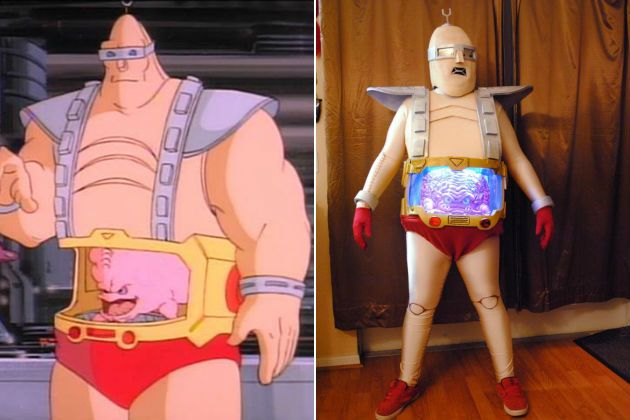 Perfect costume for super villain party. (just paint my belly).