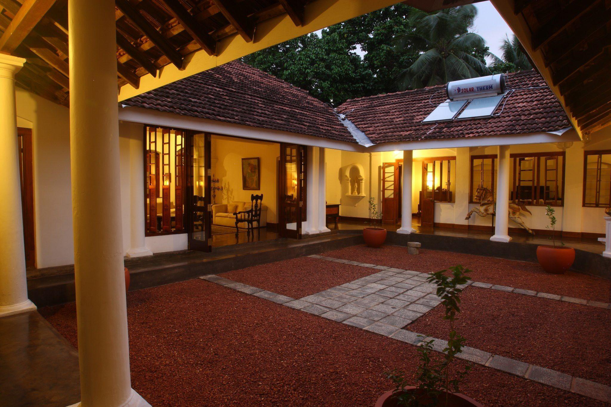 Mada Midula A Garden Within A House Village House Design