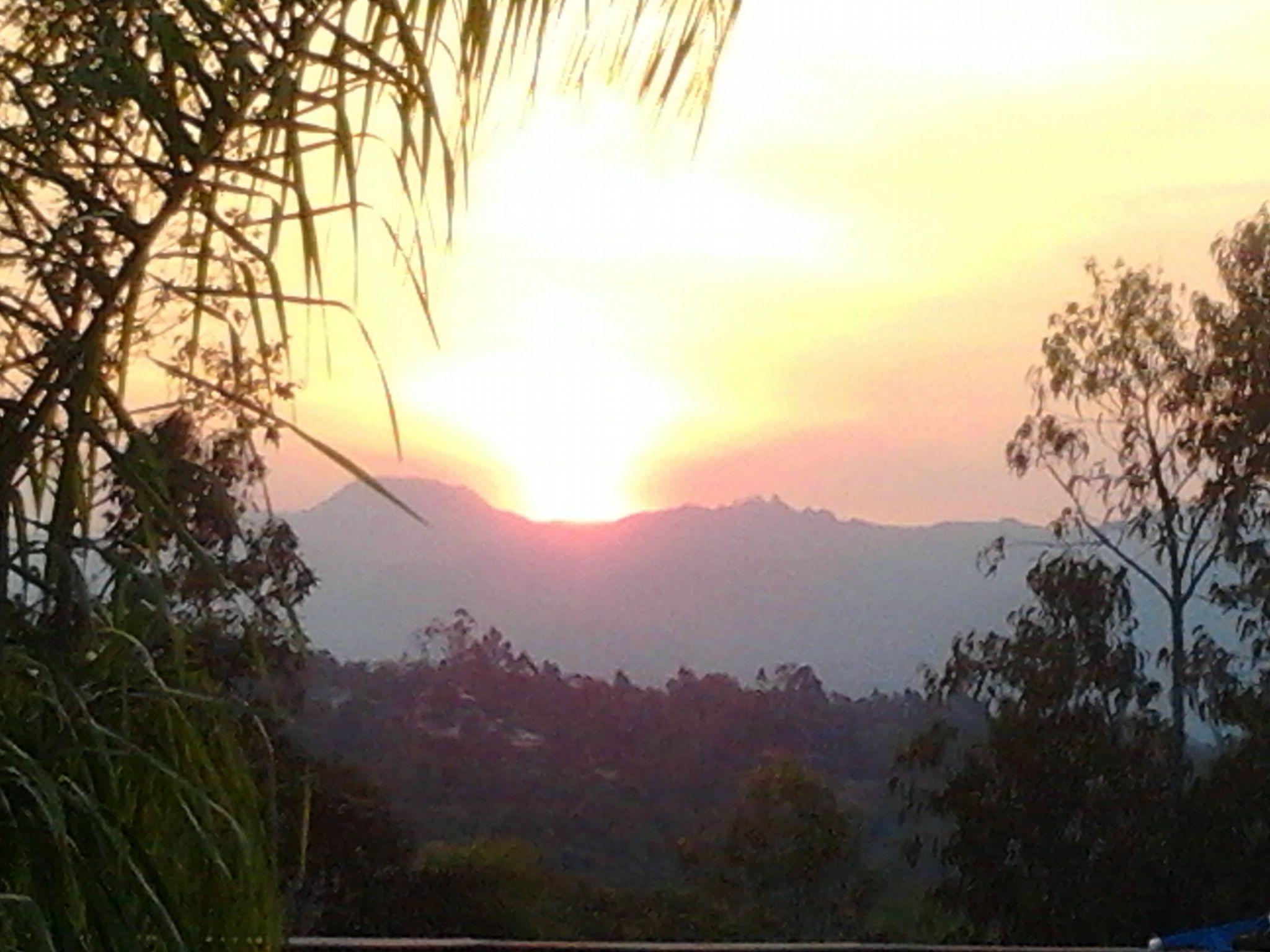 Casa Branca, MG, Brasil's sunset
