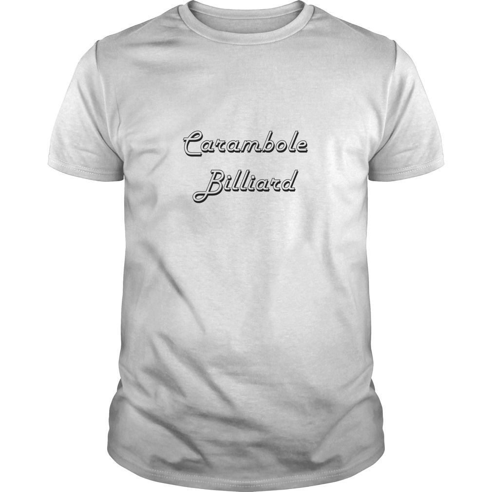 (Tshirt Cool T-Shirt) Carambole Billiard Classic Retro Design Discount 15% Hoodies, Funny Tee Shirts