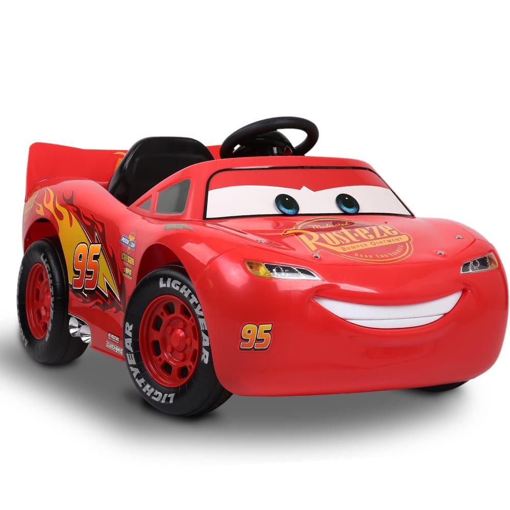 Kids Ride On Car Electric Lightning Mcqueen Arabalar Sinif