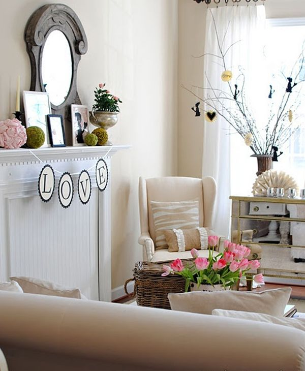 Valentine Day Decor Ideas With Living Room 15 Valentine Day Decorations With Romantic Ideas Living Room Valentine Decor Decor Valentines Day Decorations