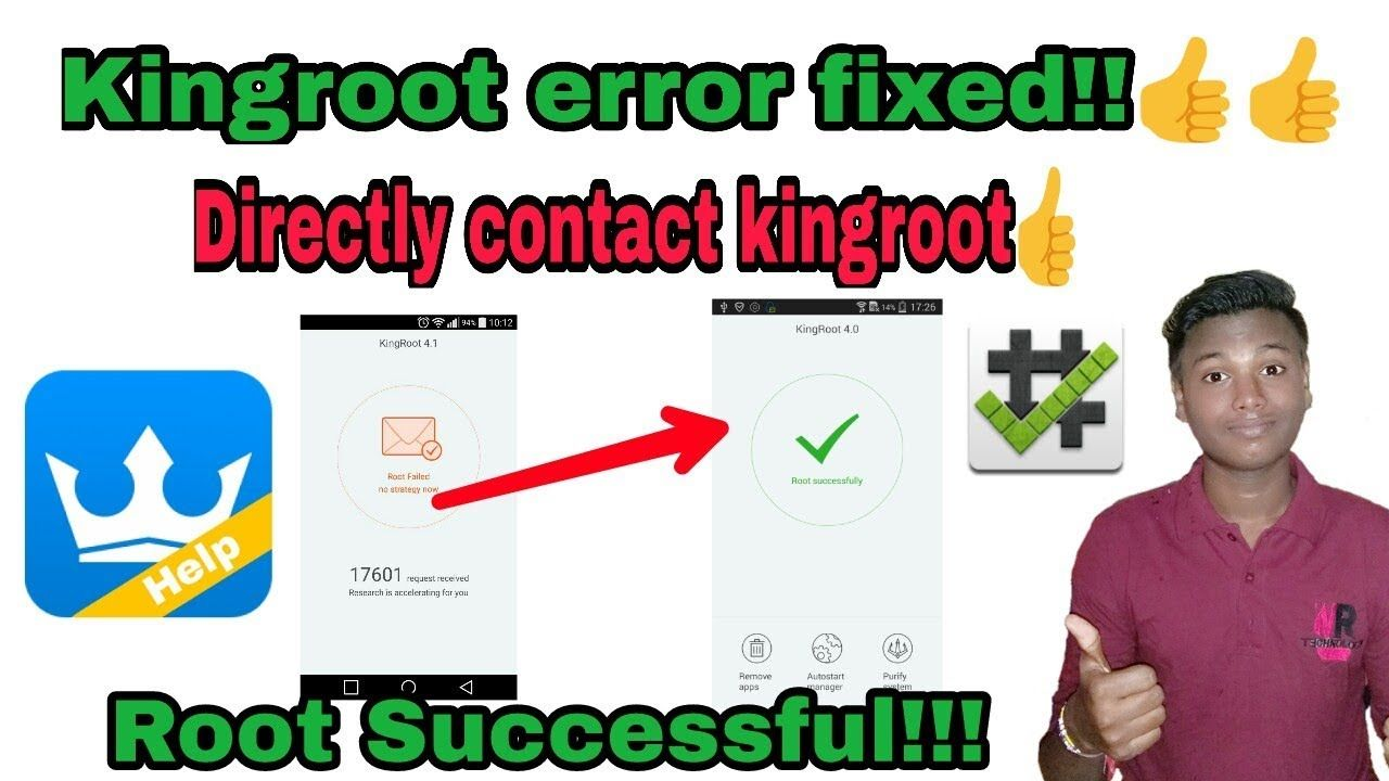 How to fix kingroot root failed | How to root any Android device