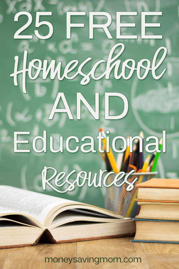 Free Homeschool Curriculum 29 Freebies Money Saving Mom Free Homeschool Curriculum Free Homeschool Homeschool Curriculum