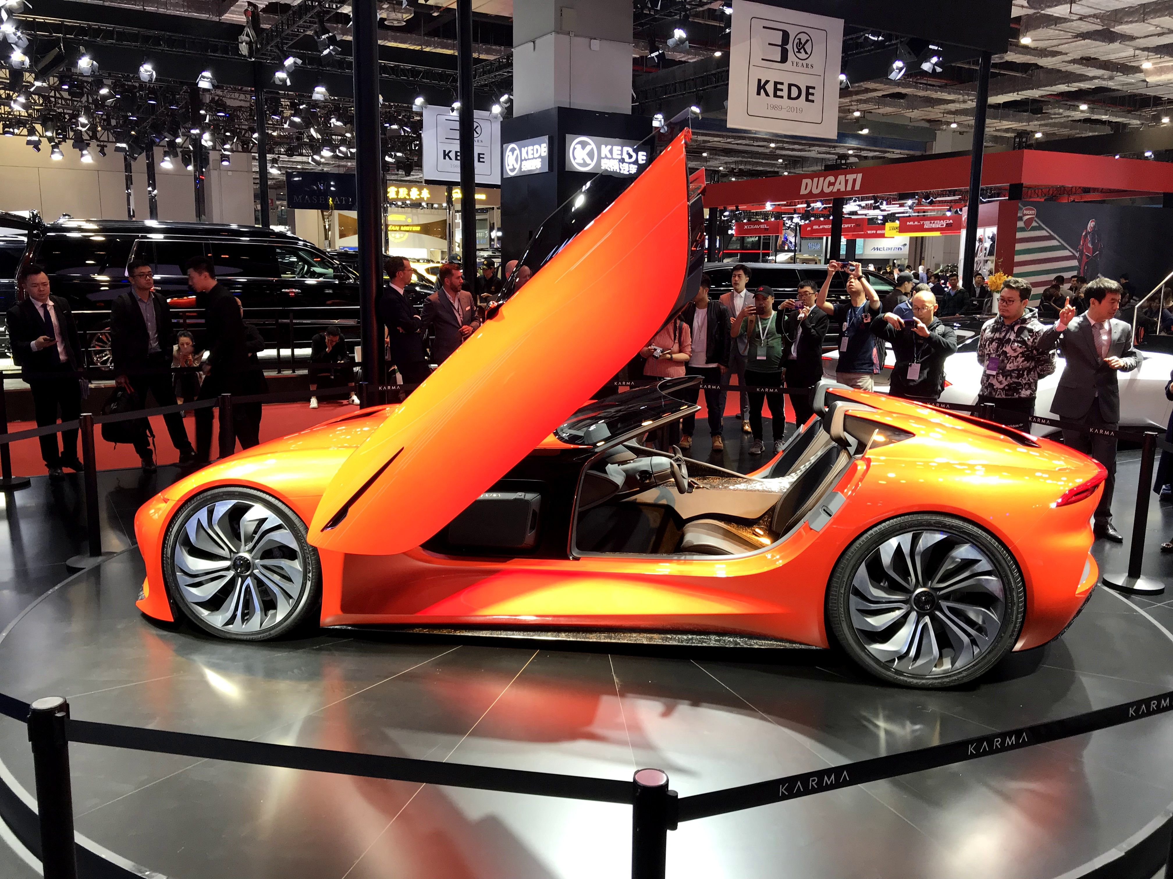 Karma Presents Its Electric Car Vision To China And Vies For