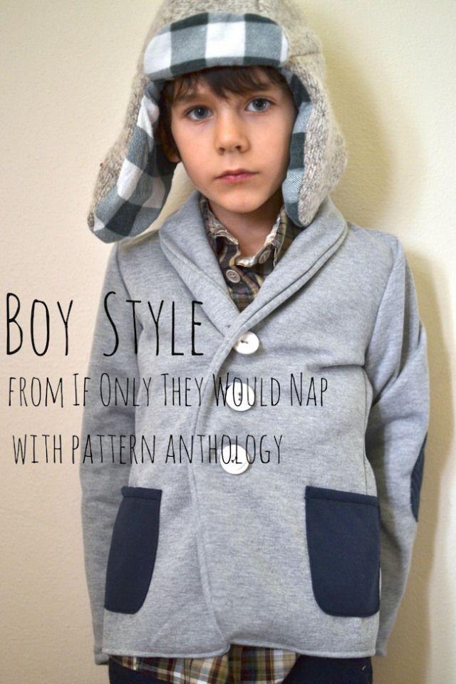 Boy Style: plaids and hats [Pattern Anthology] | SEW | Pinterest