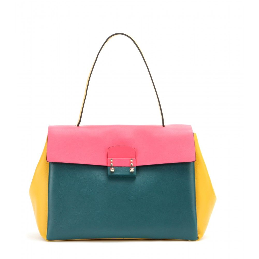mytheresa.com - Covered Medium leather tote - Totes - Bags - Valentino - Luxury Fashion for Women / Designer clothing, shoes, bags