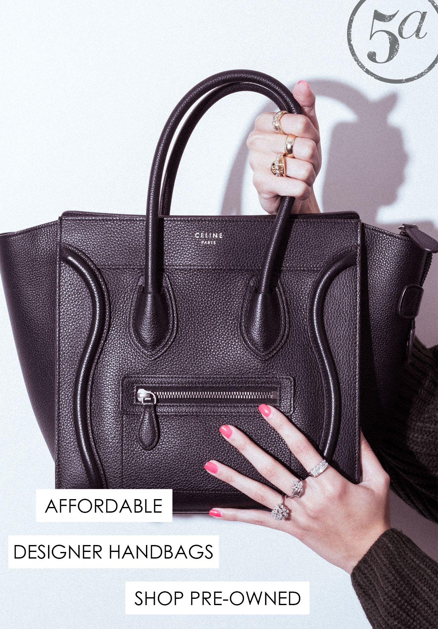 0a285615d745 Pre-owned designer handbags