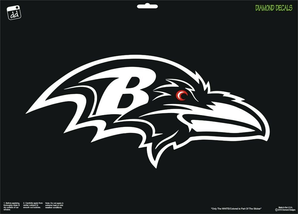Baltimore Ravens NFL Team Logo Vinyl Decal Sticker Car Window Wall Cornhole