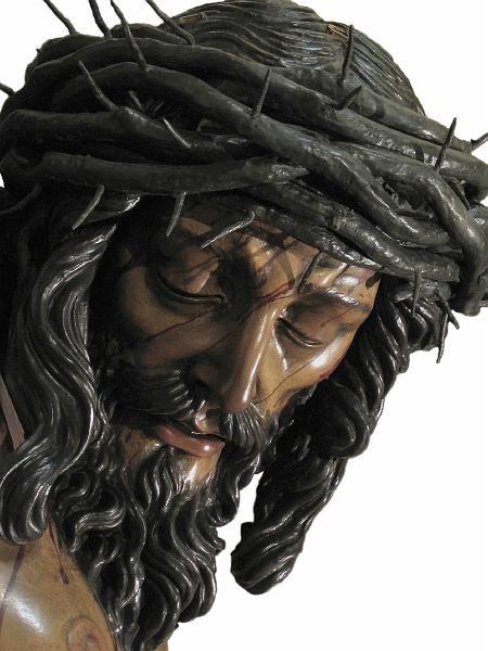 Stmo Cristo De La Sangre Obra De Francisco Buiza Fernández De 1966 Cristo Santísimo Cristo Rostro De Jesús