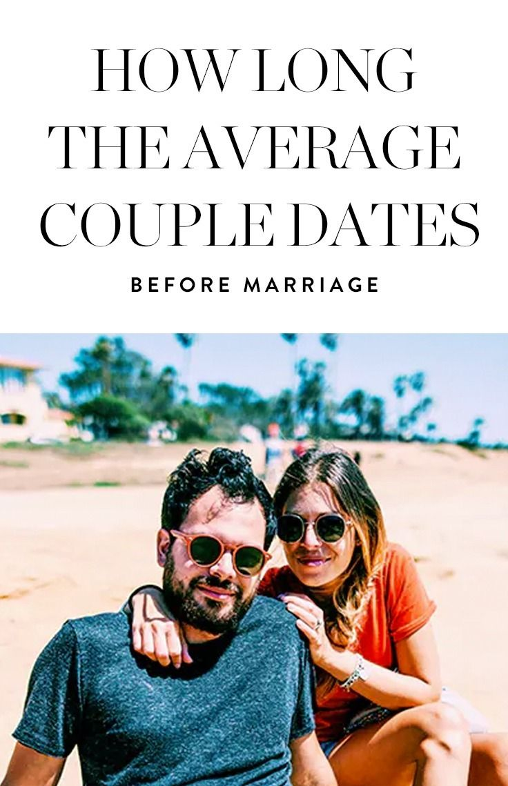 Whoa, This Is How Long the Average Couple Dates Before