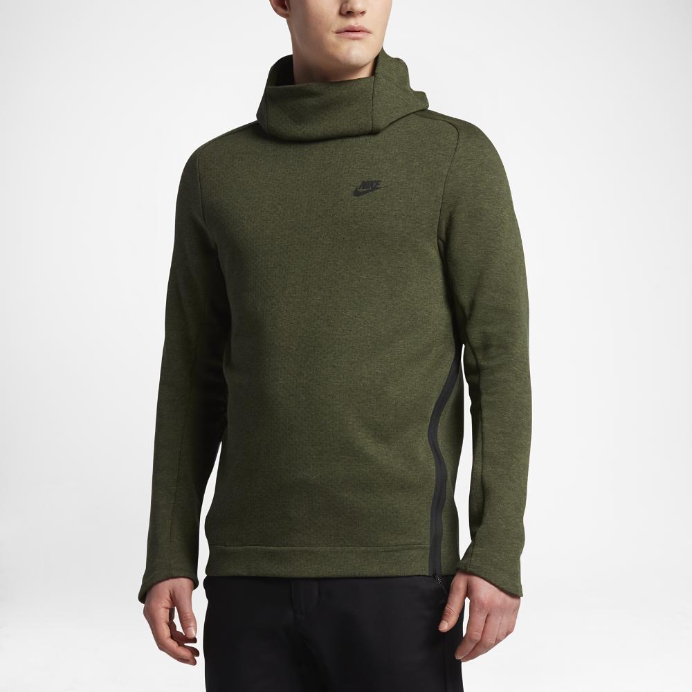 7aa23eef980 Nike Sportswear Tech Fleece Men s Hoodie Size Medium (Olive ...