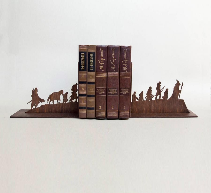 Lord Of The Rings Silhouette Bookends Bookends Unique Bookends Lord Of The Rings