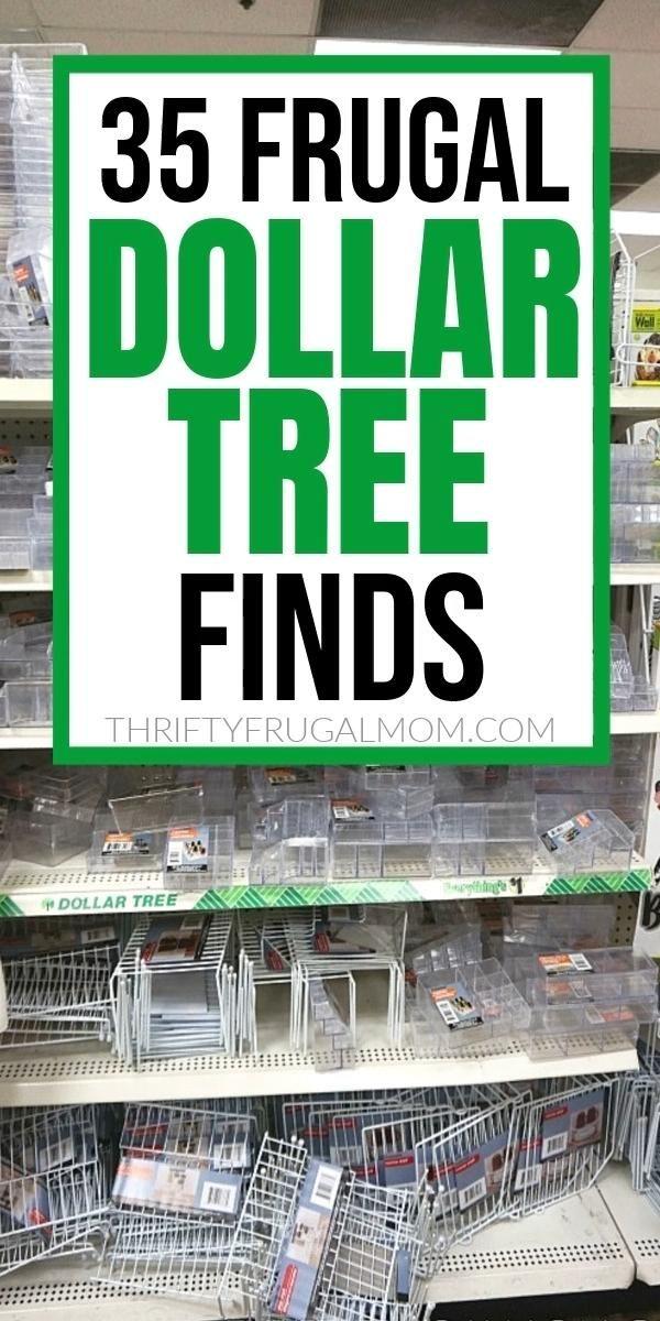 35 Money Saving Dollar Tree Favorites