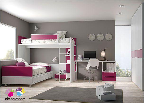 Dormitorio Infantil con Litera Bloc Armario Recto | Novedades de ...
