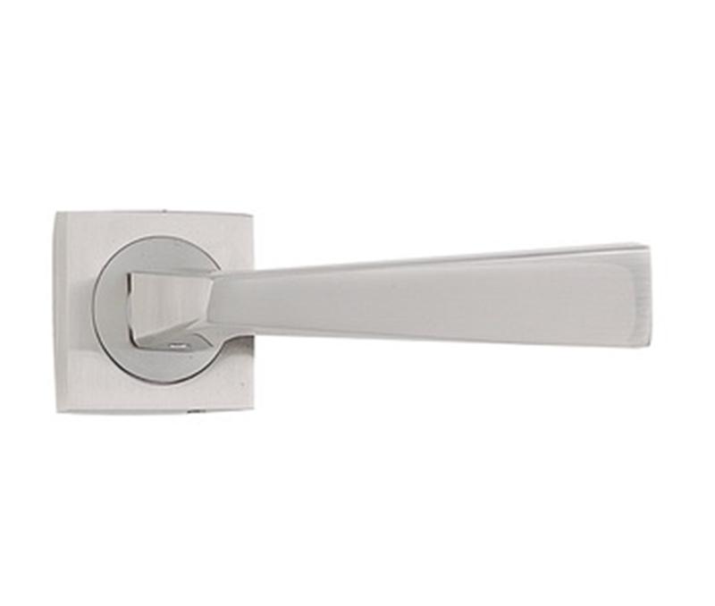 Square Base Quality Supplier Residential Door Hardware Chrome Finish Discount  Door Locks Set Simple Trendy Door
