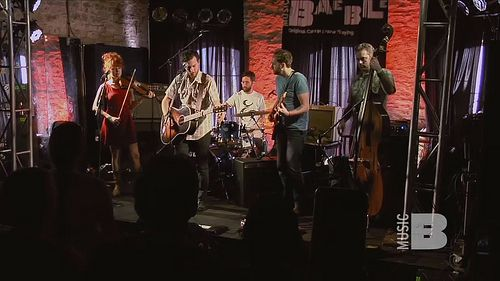 Austin Texas Event, SXSW, Great Lake Swimmers, Stage lighting, Baeble Music,