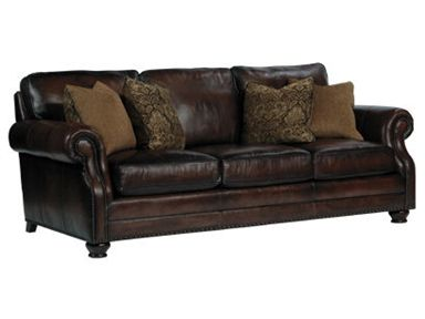 Shop For Bernhardt Regent Sofa 4327lo And Other Living Room Sofas At Gibson Furniture In Andrews Nc Leather Shown 201 Sofa Leather Sofa Leather Furniture