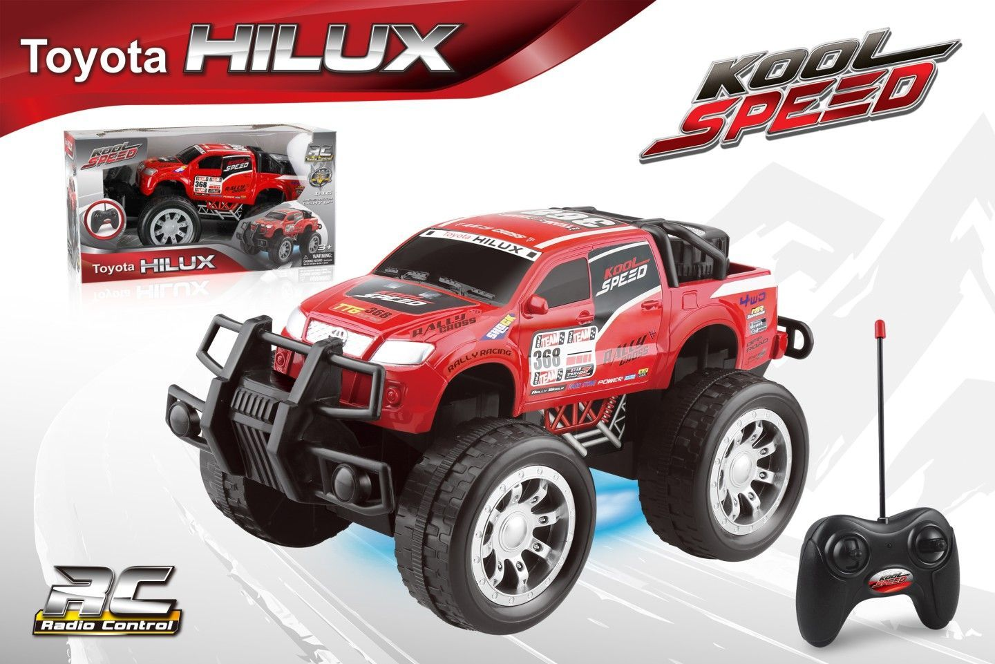1 16 Full Function R C Toyota Hilux Roll Rock It Our Toys