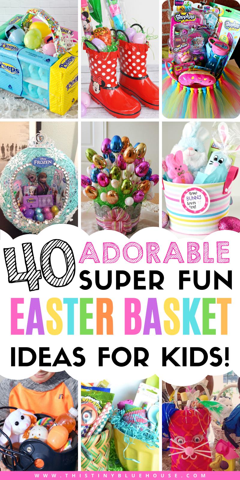 40 Best Easy Adorable Diy Clever Easter Basket Ideas Kids Easter Basket Easter Basket Diy Easter Kids