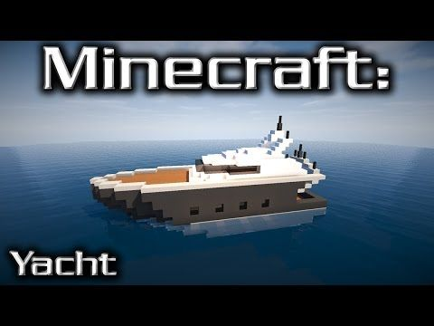 Minecraft Medium Yacht Tutorial 3