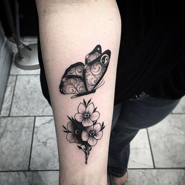 Mandala Butterfly Google Search Diy Tattoo Permanent Diy Tattoo Flower Tattoo