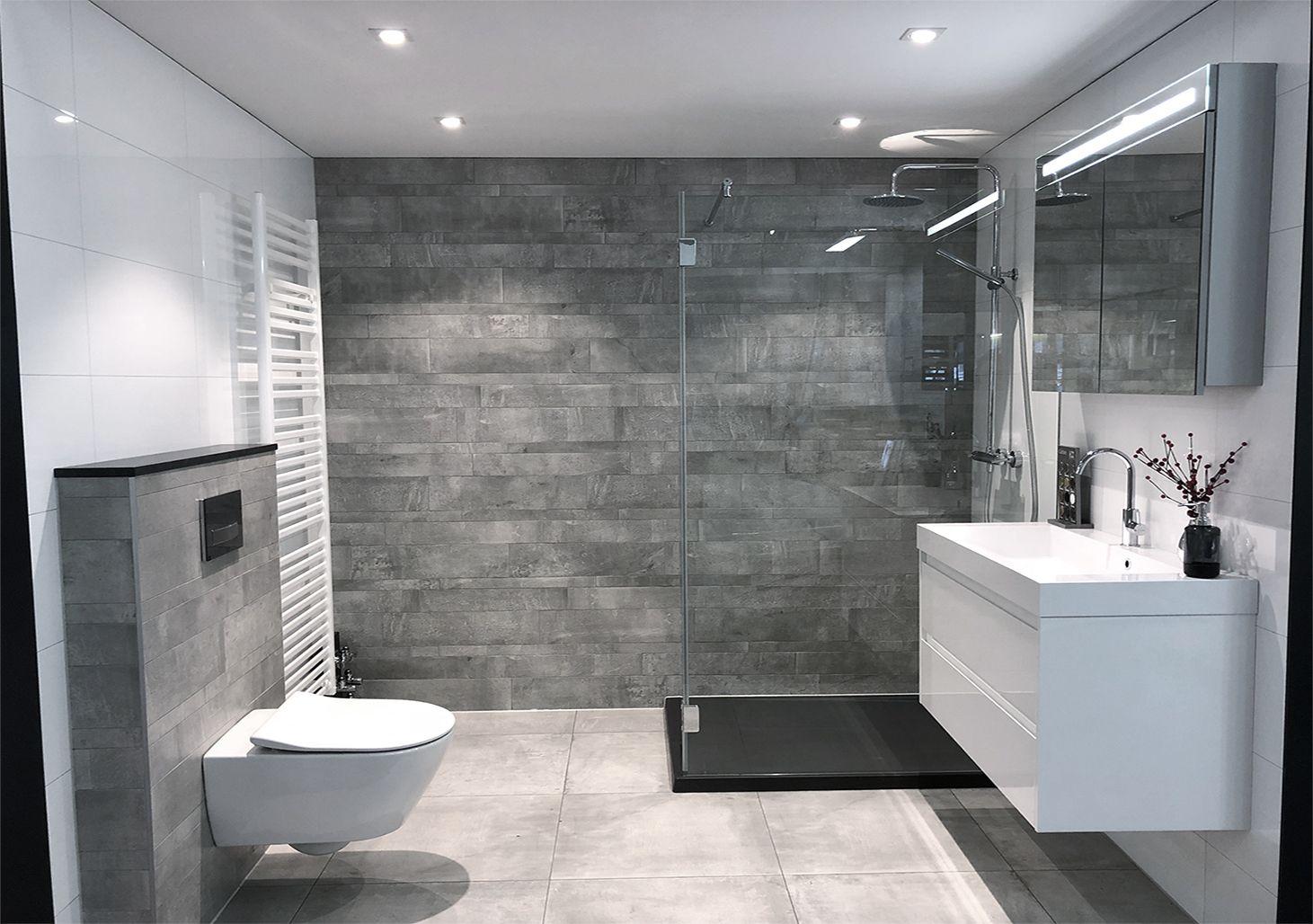 Moderne betonlook badkamer - Tegeloutlet Zaandam | badkamer ...