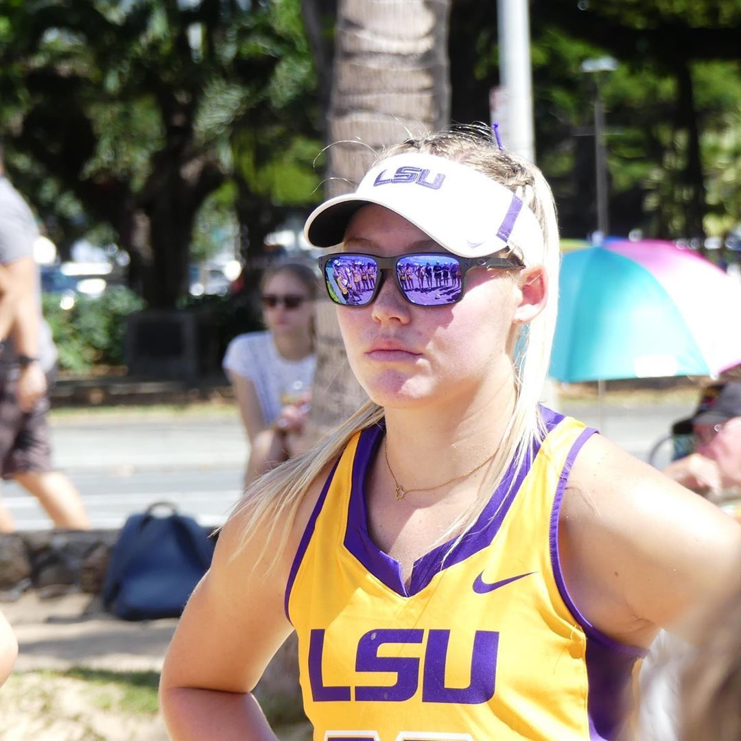 Lsu Beach Volleyball On Instagram Locked In In 2020 Lsu Beach Volleyball Sunglasses