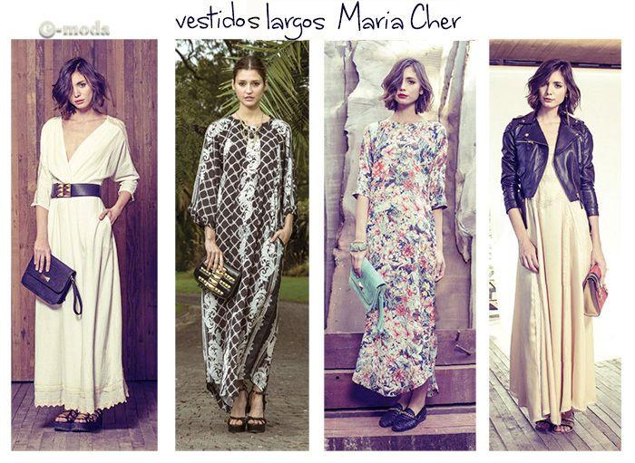 e-moda: Maria Cher vestidos de fiesta
